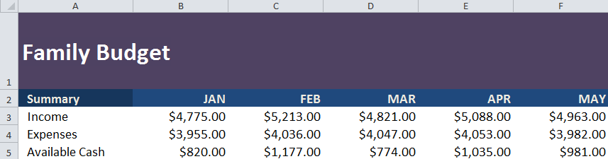 Sorting and Filtering in Excel