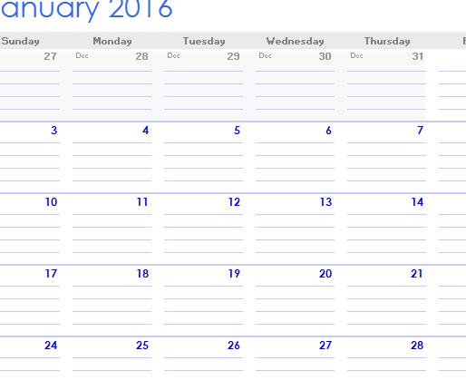 Calendar Notebook 2015 : Notebook calendar