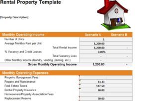 Rental Property Template