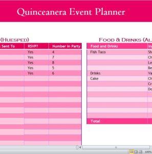 Quinceanera Event Planner