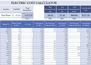Excel calculator excel loan calculator for Net price calculator template