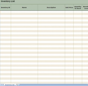 Free Printable Inventory Count Sheets