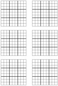 Complimentary blank printable Sudoku sheet