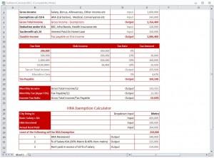 Tax Return Calculator 2012 from ExcelTemplates.net