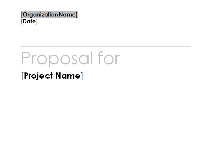 Fundraising Plan Template screenshot