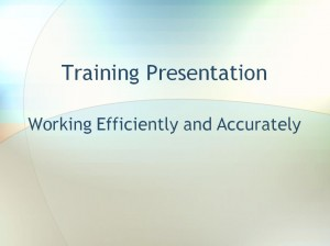 The Employee Training Template