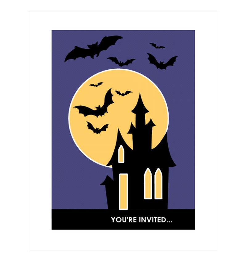 Free Halloween Costume Party Invitations