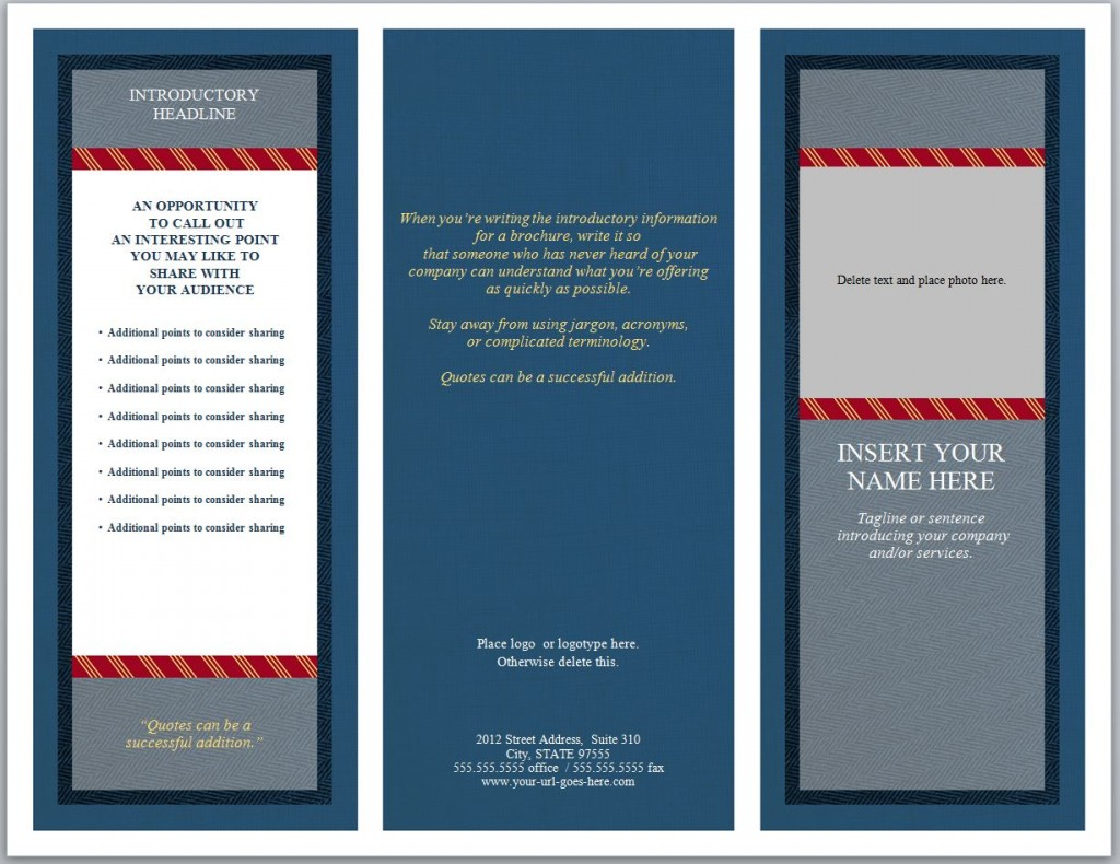 Photo of the Legal Brochure Template