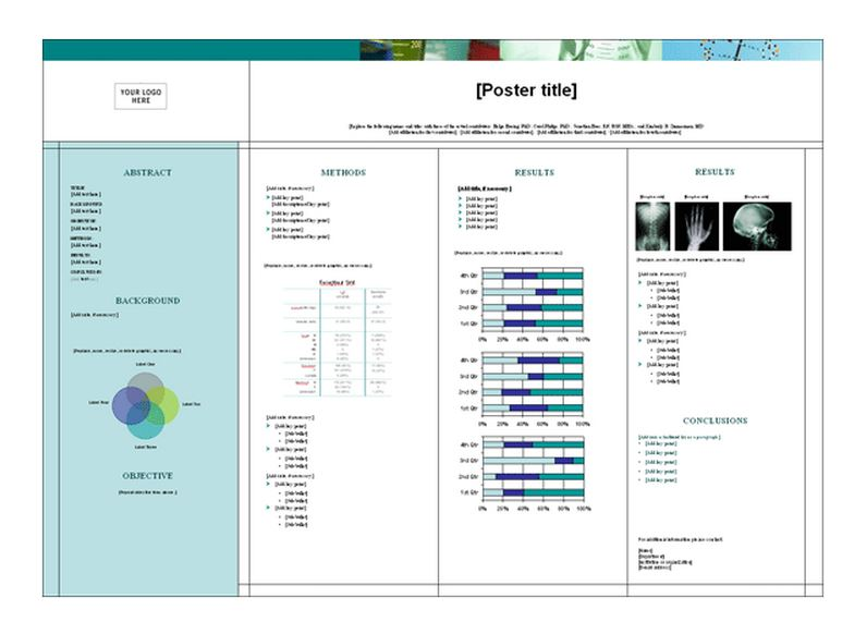 Picture of the Medical Poster Template