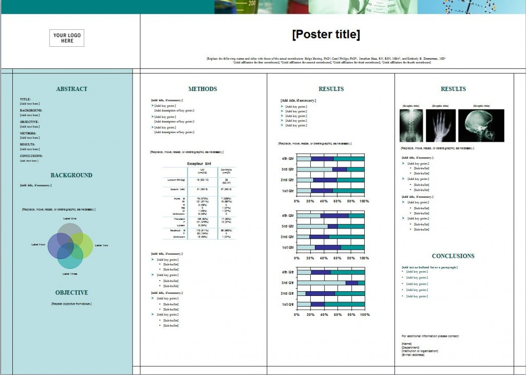 The Scientific Poster Template