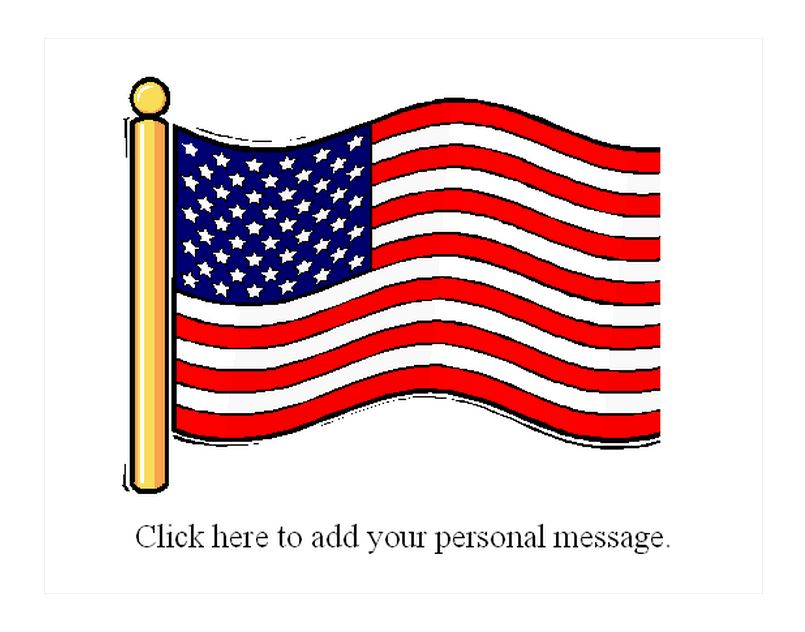 Free American Flag Magnets