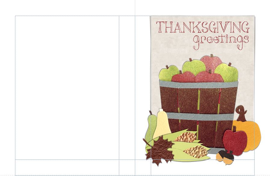 Thanksgiving Card Templates Free