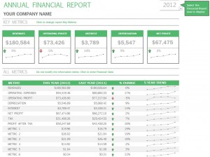 Free Annual Financial Report