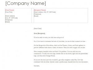 Business Letterhead Free