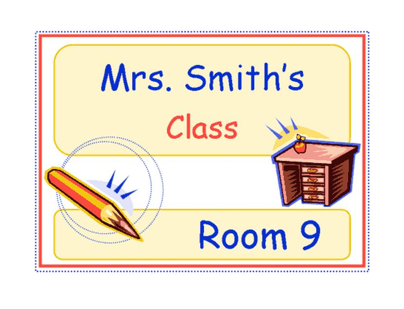 Classroom Signs | Printable Classroom Signs