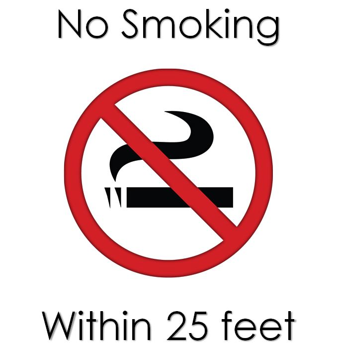 Printable No Smoking Signs Template